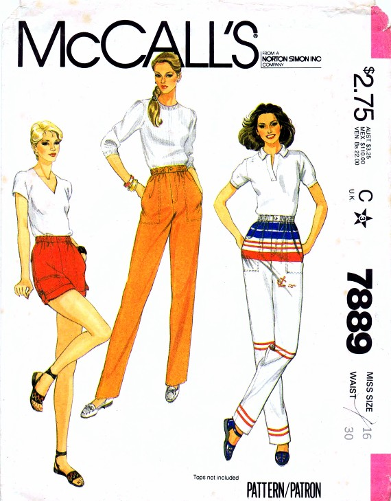 McCalls 1982 7889