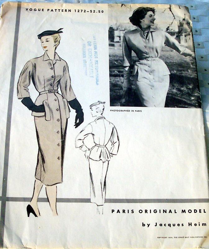 Vogue 1272 50s