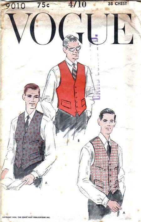 Pattern - Vogue 9010