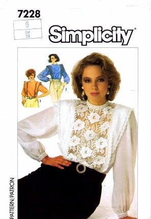 Simplicity 1985 7228
