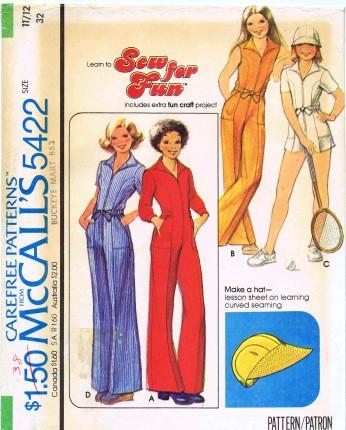 McCalls 1977 5422