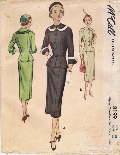 McCall 1950 8199 F
