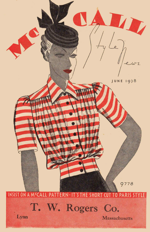 McCall Style News June 1938