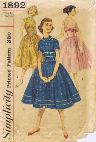 Simplicity 1956 1892