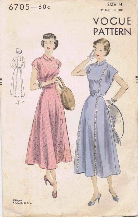 Vogue 1949 6705