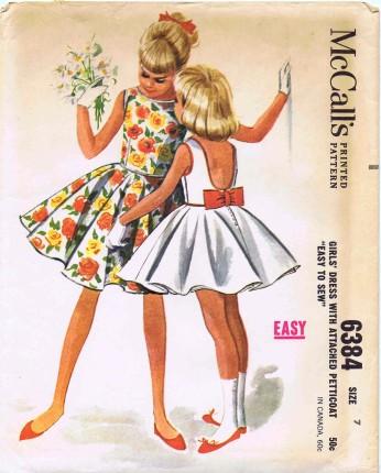 McCalls 1962 6384