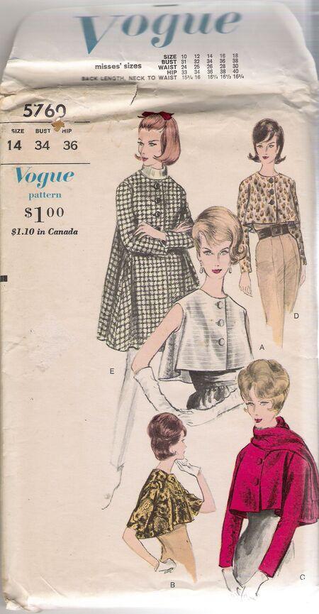 Vogue 5760 image
