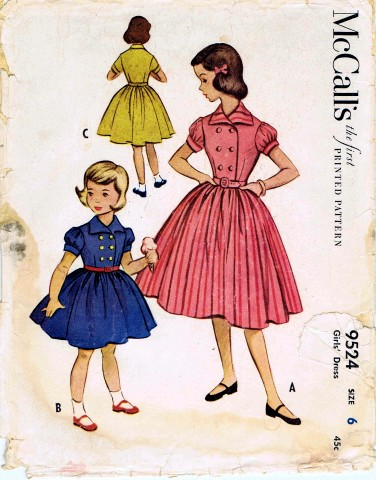 McCalls 1953 9524