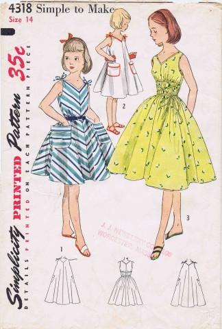 Simplicity 1953 4318
