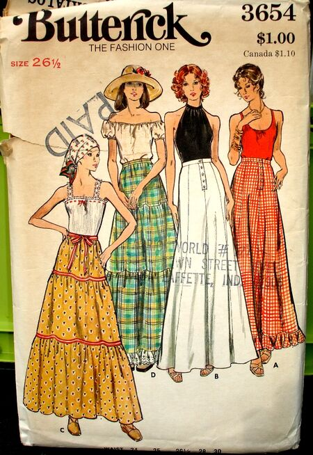 Butterick 3654 image