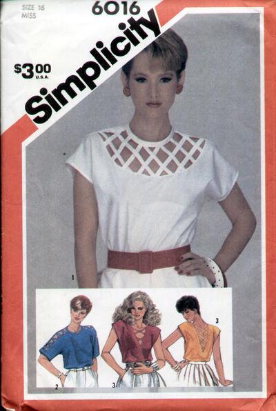 Simplicity 6016 83