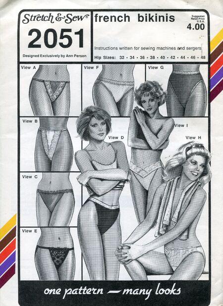 Stretch&sew2051panties