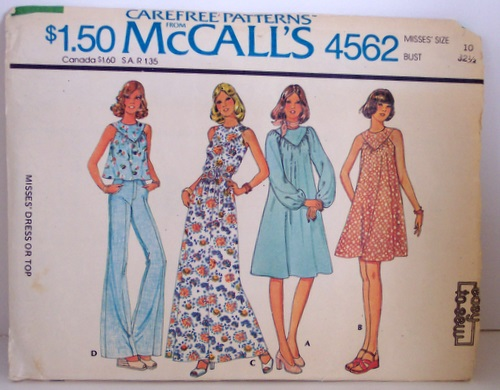 McCalls 4562 100 1874