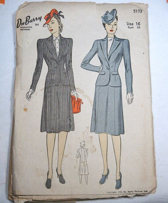 Dubarry5173 SewingPattern front