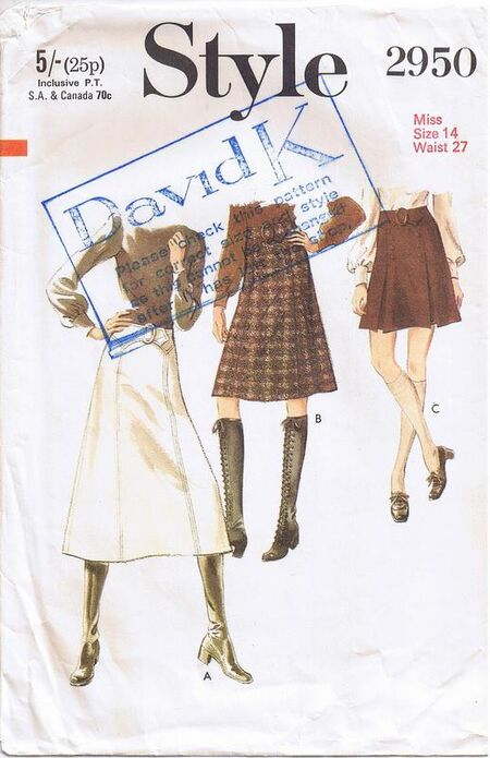 Style 2950 Skirts