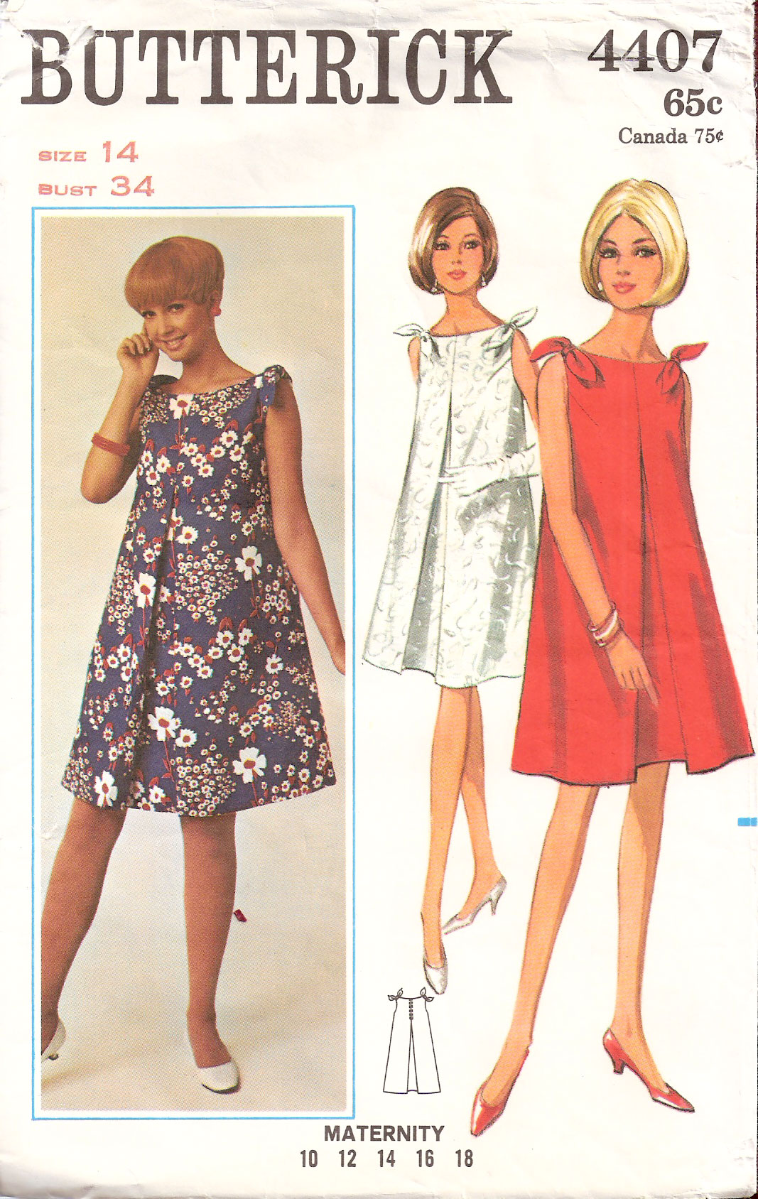 Butterick 4407 vintage sewing patterns fandom powered by wikia ombrellifo Images