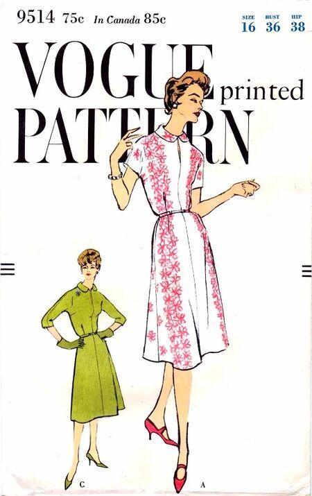 Vogue 1958 9514