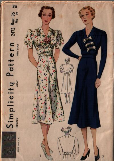 Simplicity 2473 front