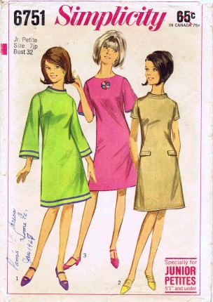 Simplicity 1966 6751