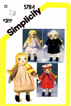 Simplicity 1982 5784