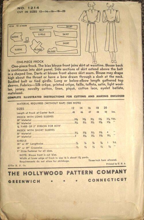 Hollywood 1214 back