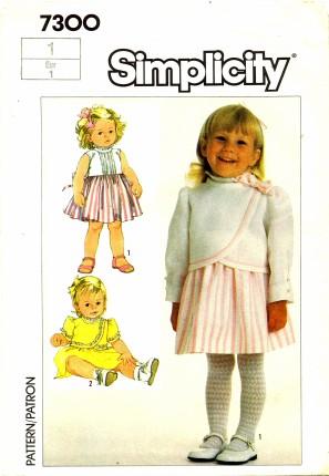 Simplicity 1985 7300