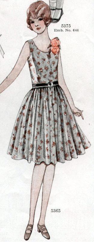 McCall 5365 1928 Teen