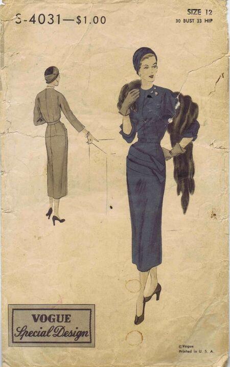 Vogue 1949 S-4031
