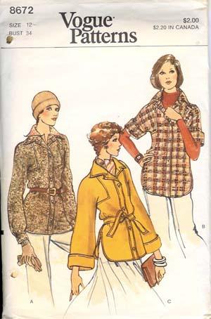 8672v 1970s jacket