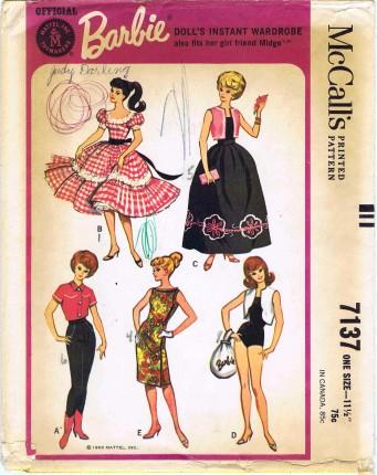 McCalls 1963 7137