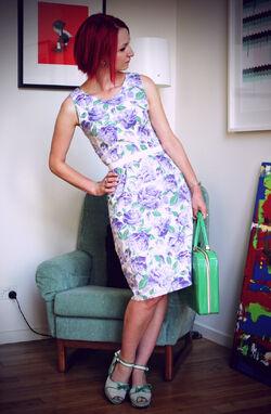 Purple-floral 0044