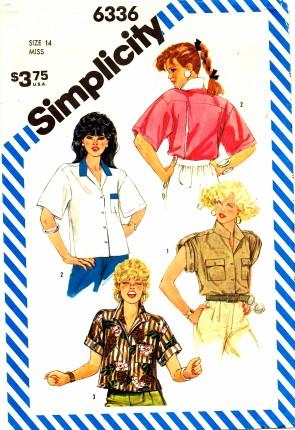 Simplicity 1984 6336