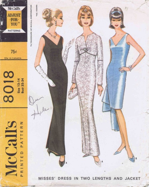 McCalls 1965 8018