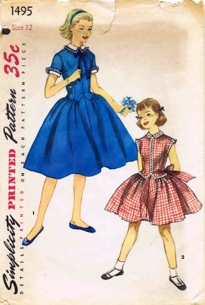 Simplicity 1956 1495