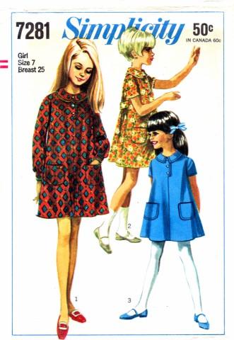 Simplicity 1967 7281