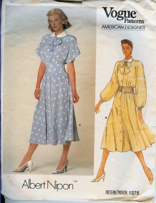 W-1375V 1985 ANipon-Dress