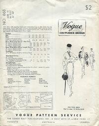 Vogue 668 a back