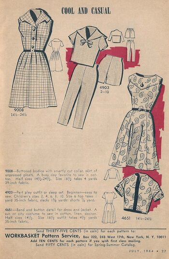 Cool Casual Mail Order Patterns