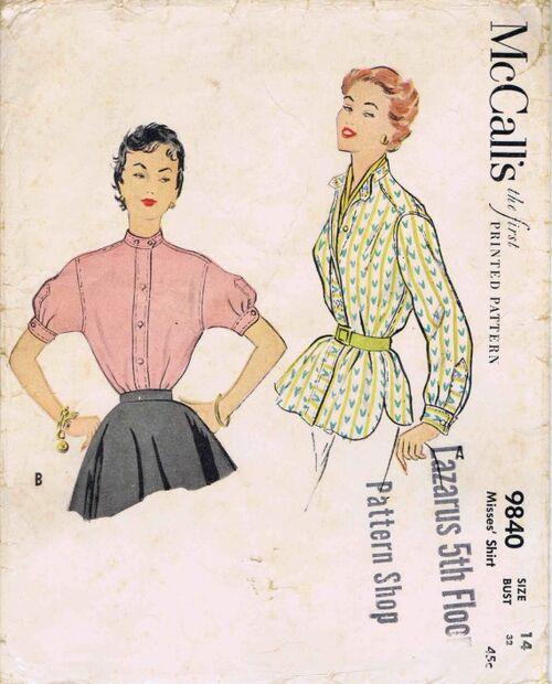 McCalls 1954 9840