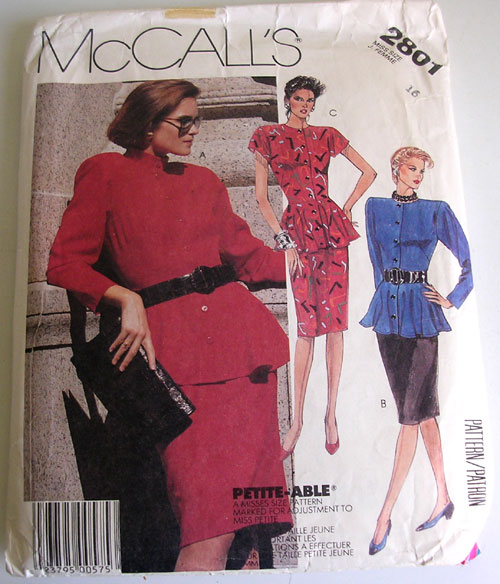 McCall's 2801 image