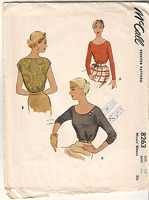 Mccall 8263 cover