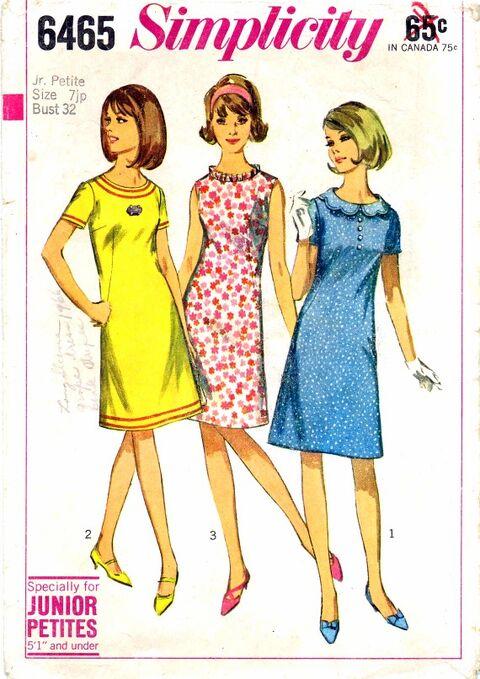 Simplicity 1966 6465