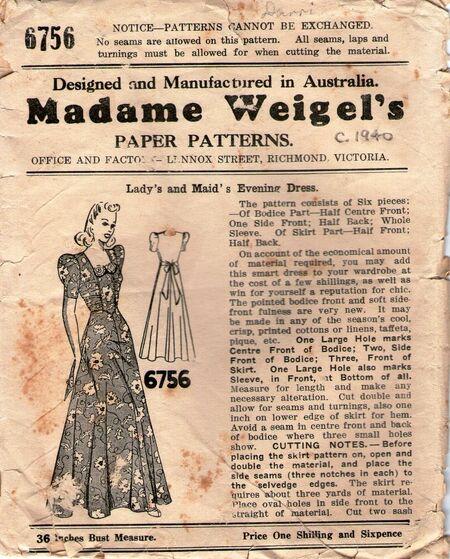 Madame weigels6756