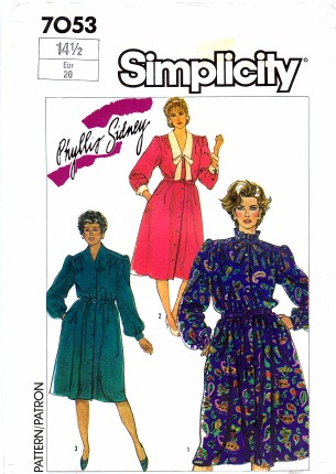 Simplicity 1985 7053