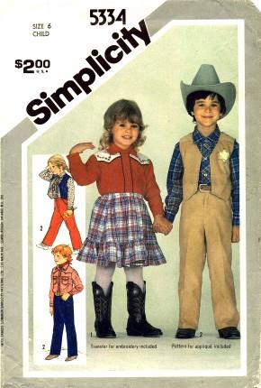 Simplicity 1981 5334