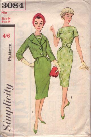File:Simplicity 3084 RETRO dress + jacket.jpg