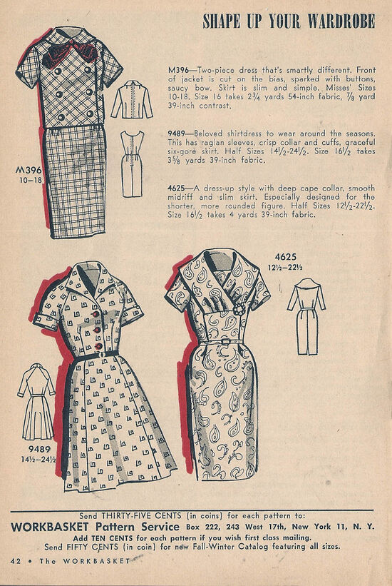 Mail Order Dresses Oct 1963