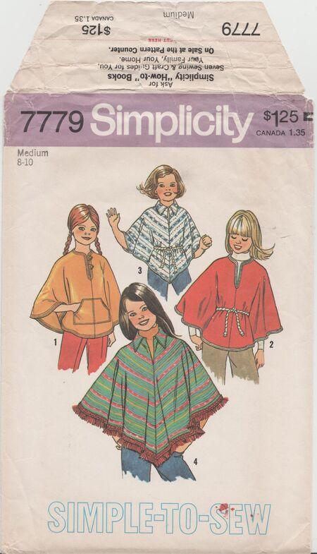 Simplicity 7779 A