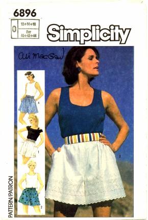 Simplicity 1985 6896