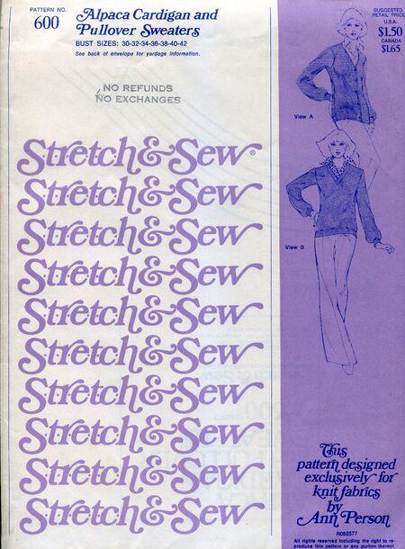 Stretch&sew600cardigan